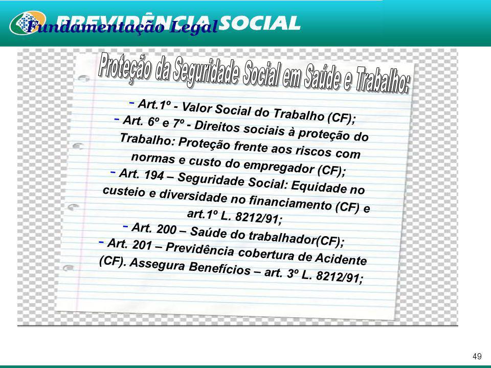 Secretaria de Previdência Social Departamento de Saúde e Segurança Ocupacional Cultura de Prevenção na Seguridade Social