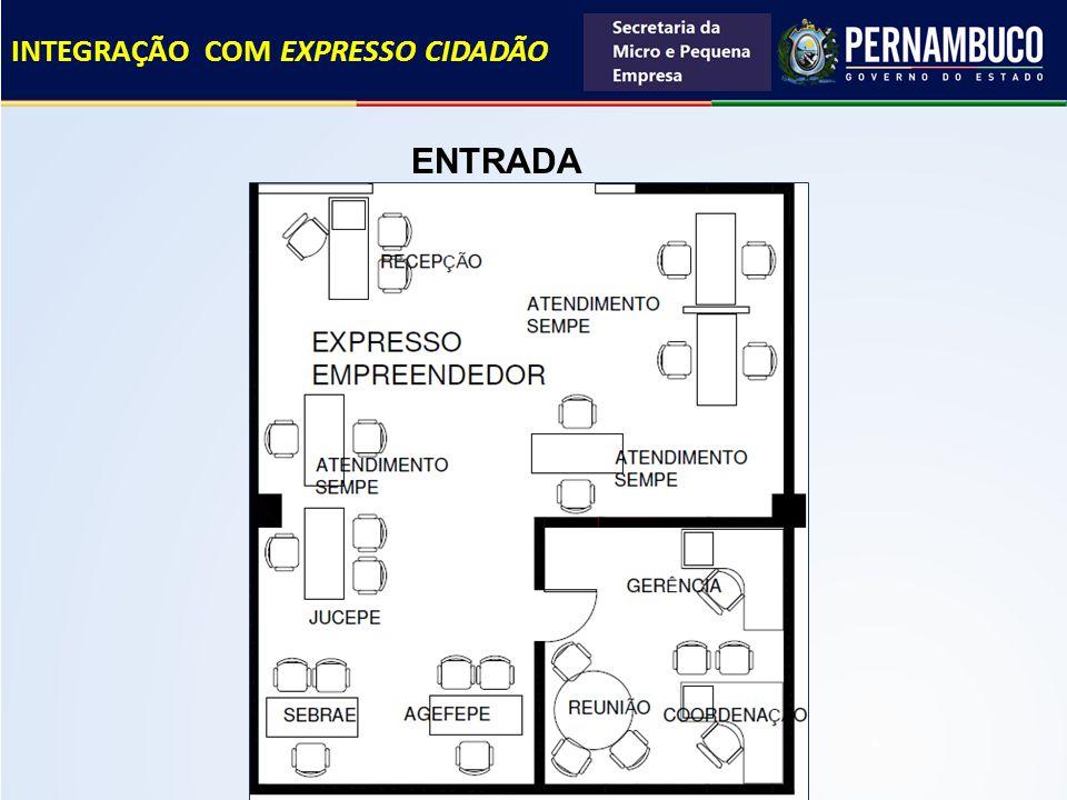 ENTRADA INTEGRAÇÃO COM EXPRESSO CIDADÃO