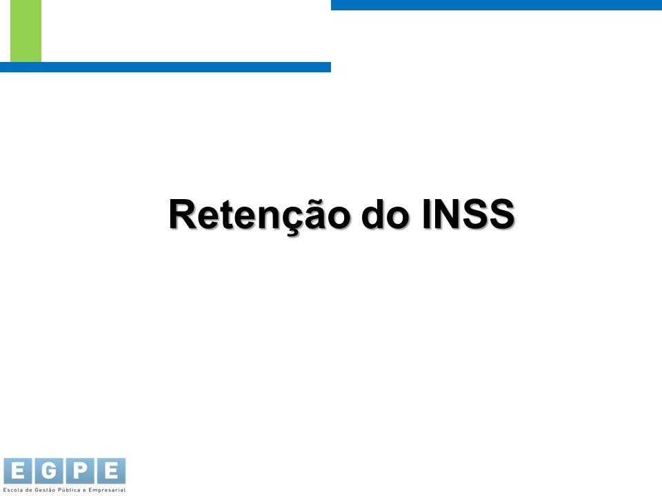 Retenção do INSS