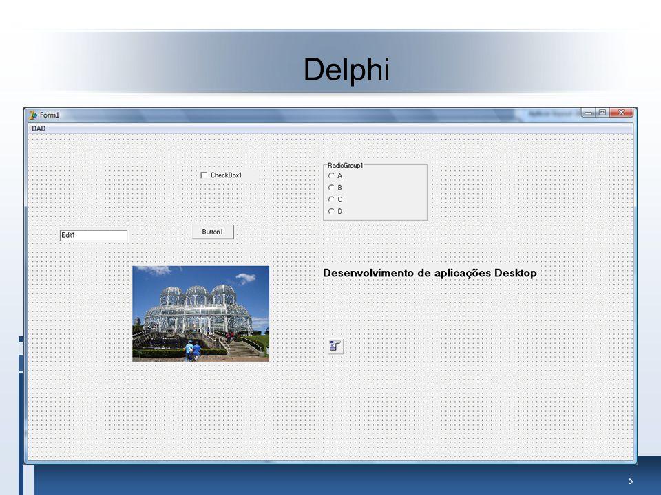 36 No Delphi Adcionar um DataModule ao projeto