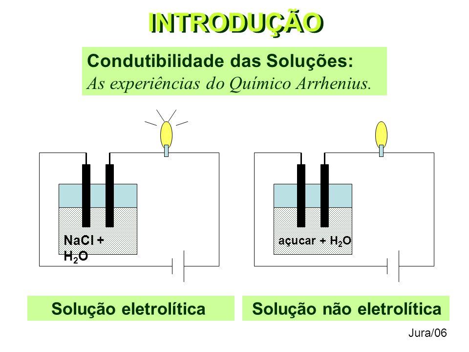 FUNÇÕES QUÍMICAS Definição: substâncias com propriedades químicas semelhantes. Classificação Geral: Funções Inorgânicas Funções Orgânicas Jura/06