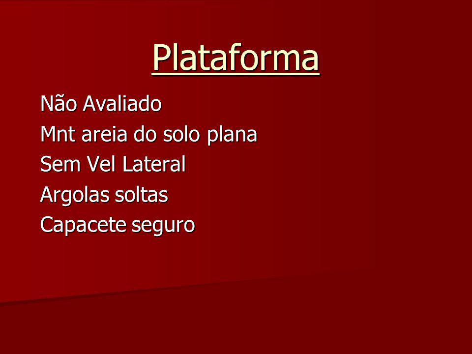 Plataforma Não Avaliado Mnt areia do solo plana Sem Vel Lateral Argolas soltas Capacete seguro
