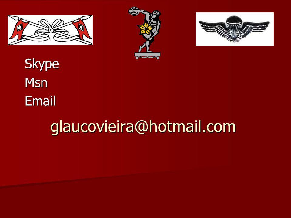 glaucovieira@hotmail.com SkypeMsnEmail