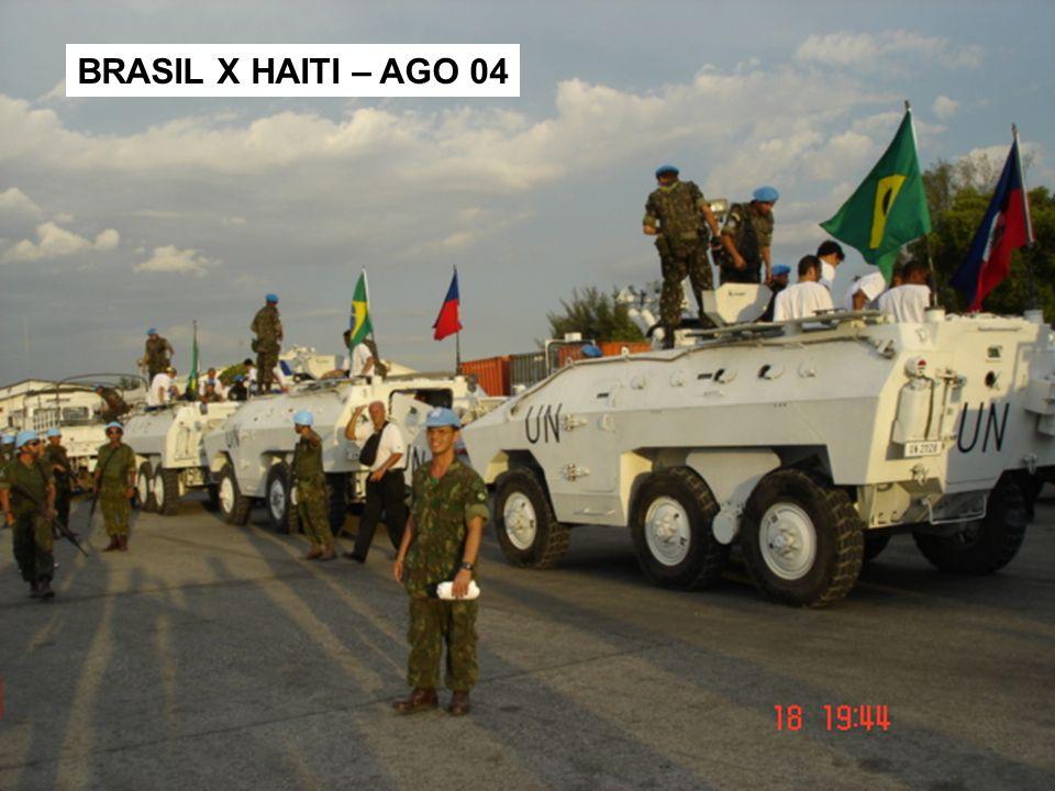 BRASIL X HAITI – AGO 04