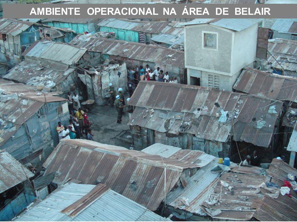 AMBIENTE OPERACIONAL NA ÁREA DE BELAIR