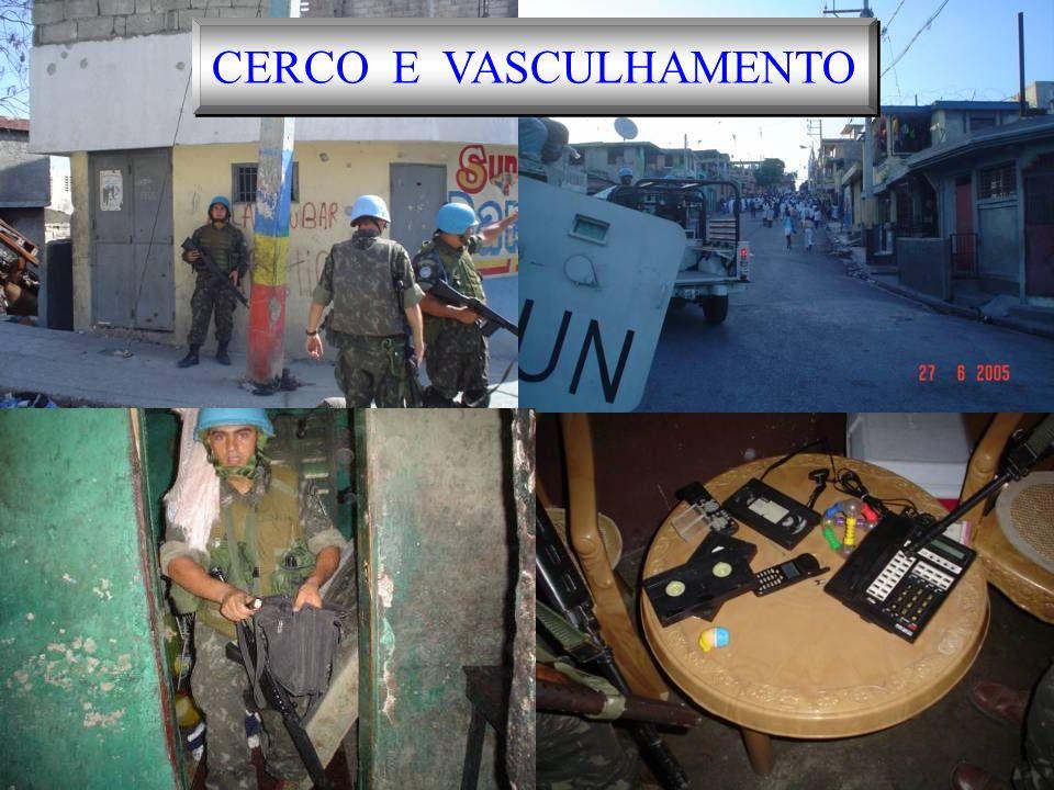 CERCO E VASCULHAMENTO