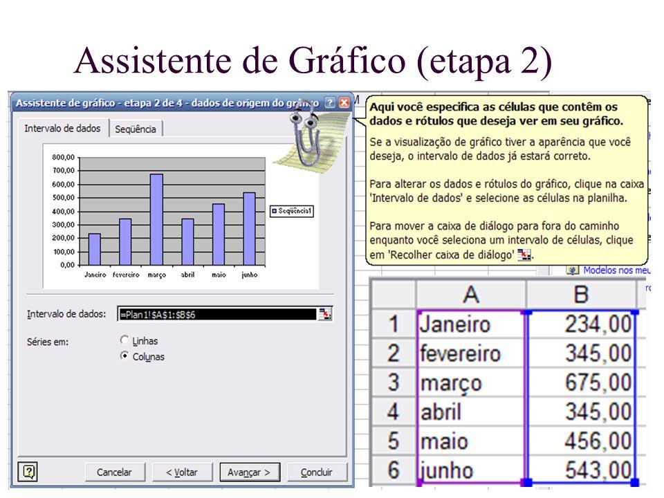 Assistente de Gráfico (etapa 2)