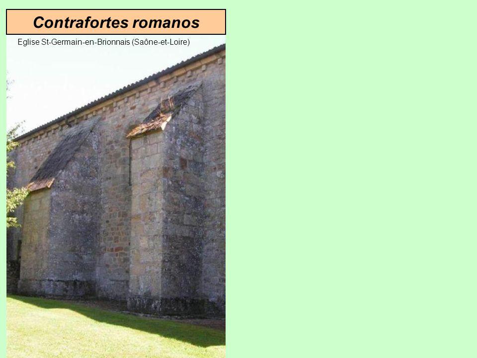 Solução Gótica Solução romana Contrafortes Arcos-botantes