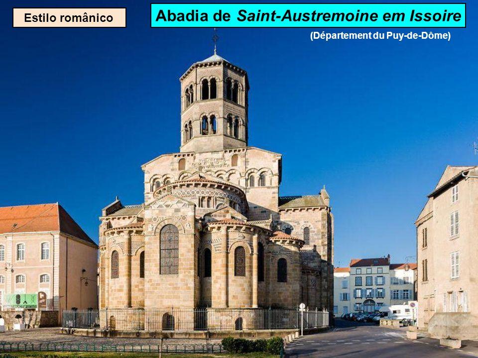 Estilo românico Basílica de Saint-Sernin de Toulouse (Département de la Haute-Garonne)