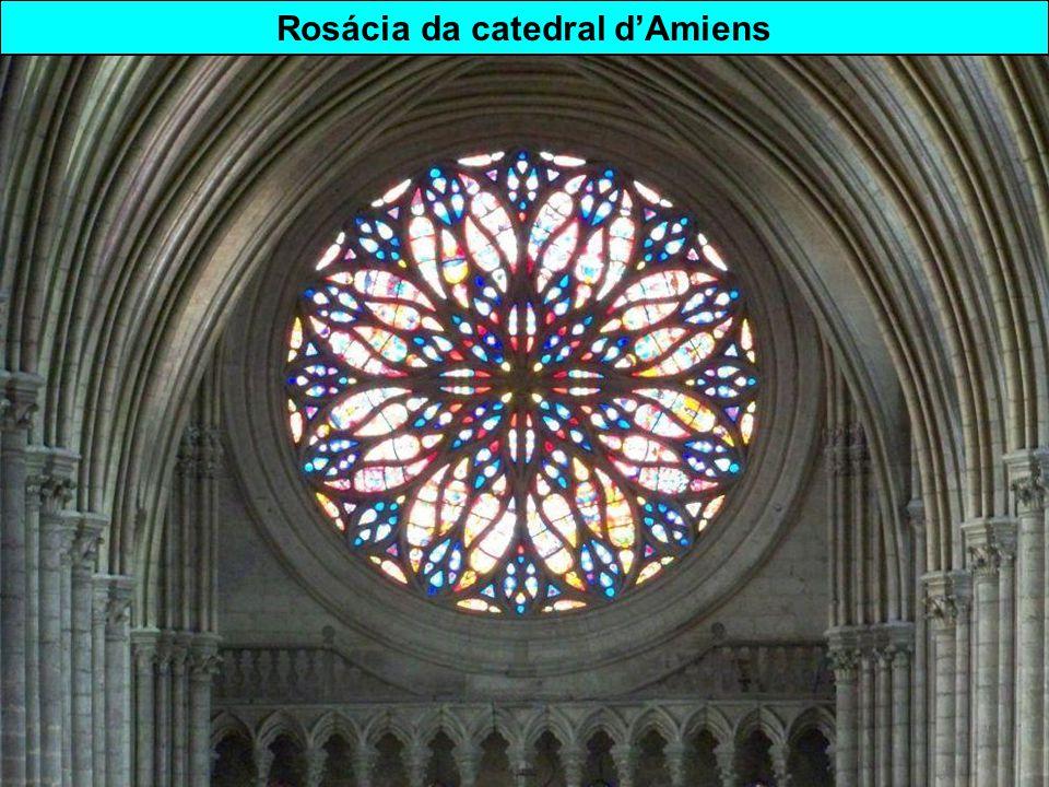Estilo gótico Catedral Notre-Dame d'Amiens ( département de la Somme)