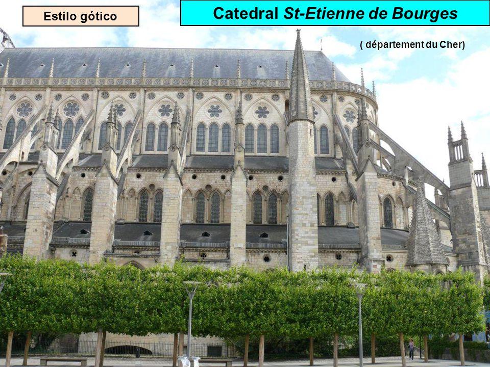 Estilo gótico Catedral Notre-Dame de Reims ( département de la Marne)