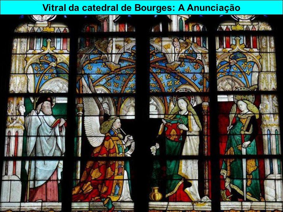 Estilo gótico Catedral St-Etienne de Bourges ( département du Cher)