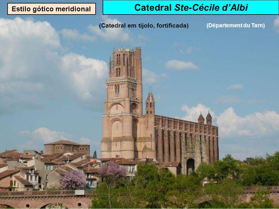 Estilo gótico Catedral St-Etienne de Metz ( département de la Moselle)