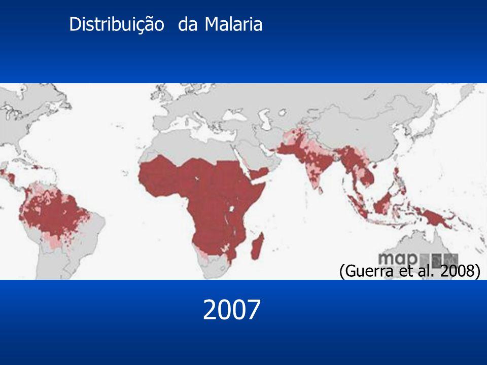 Número de casos ( x 1000) Casos de malária no Brasil vs.