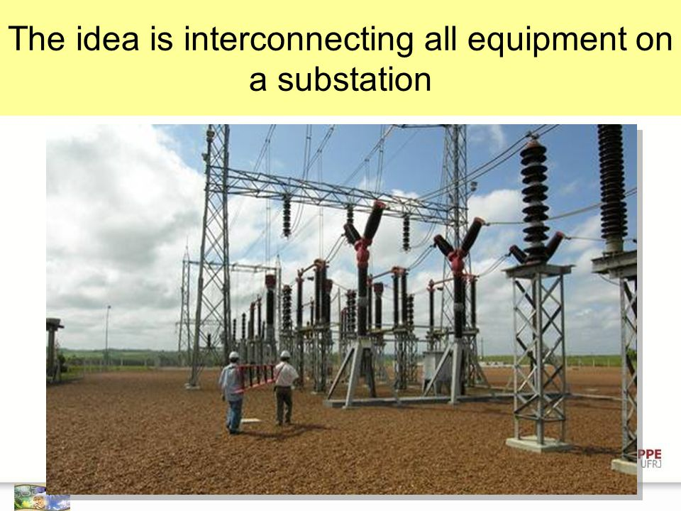 The idea is interconnecting all equipment on a substation