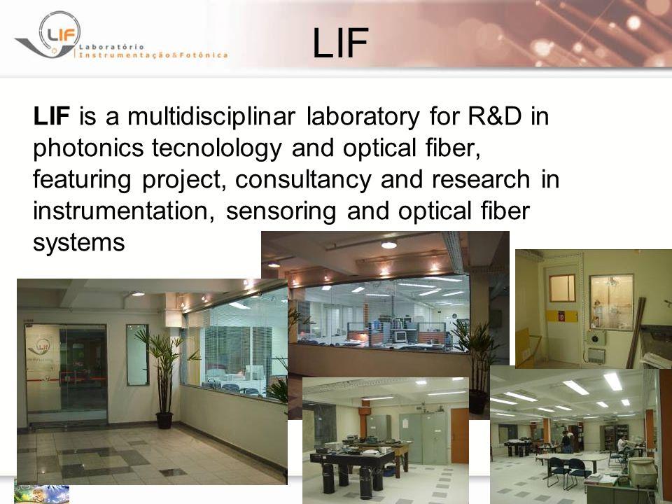 75 Sensores a POF do Laborat ó rio de Instrumenta ç ão e Fotônica Laboratório de Instrumentação e Fotônica - LIF Prof.