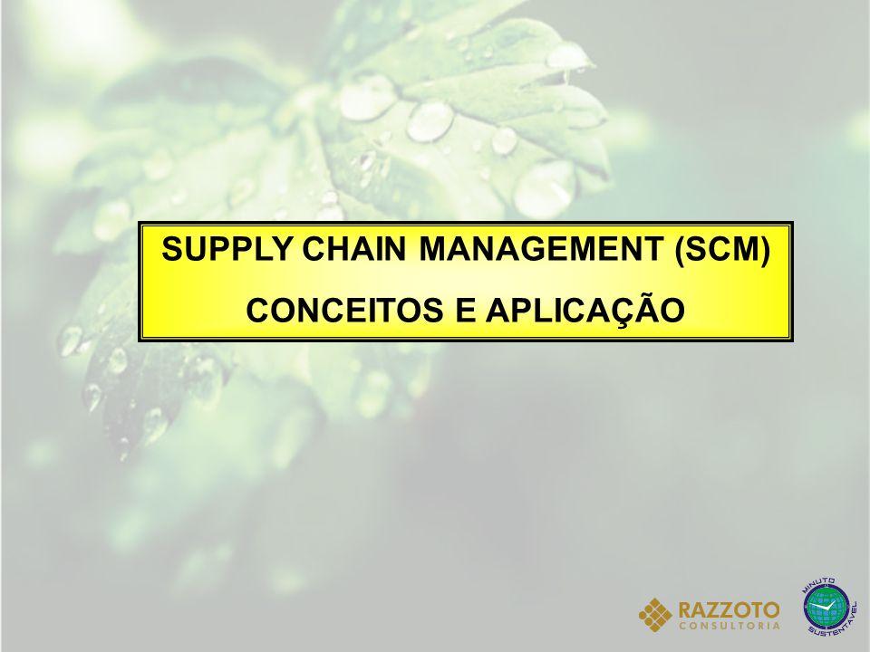 SUPPLY CHAIN MANAGEMENT (SCM) CONCEITOS E APLICAÇÃO