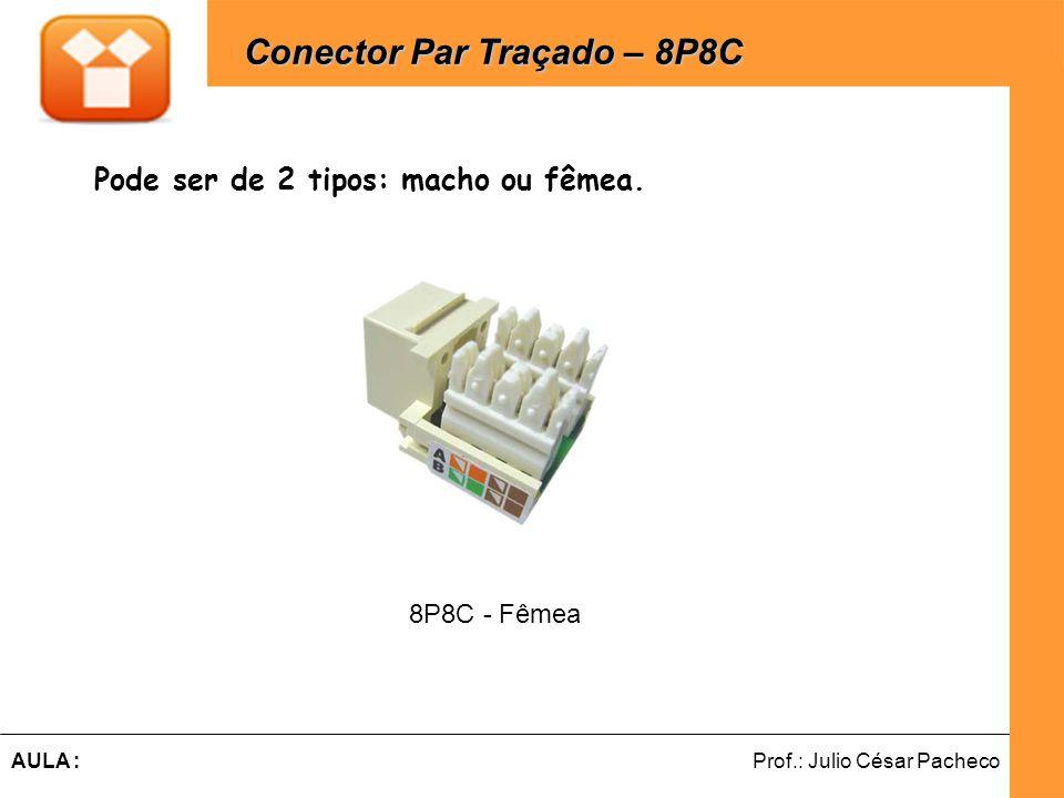 Ferramentas de Desenvolvimento Web Prof.: Julio César PachecoAULA : Pode ser de 2 tipos: macho ou fêmea.