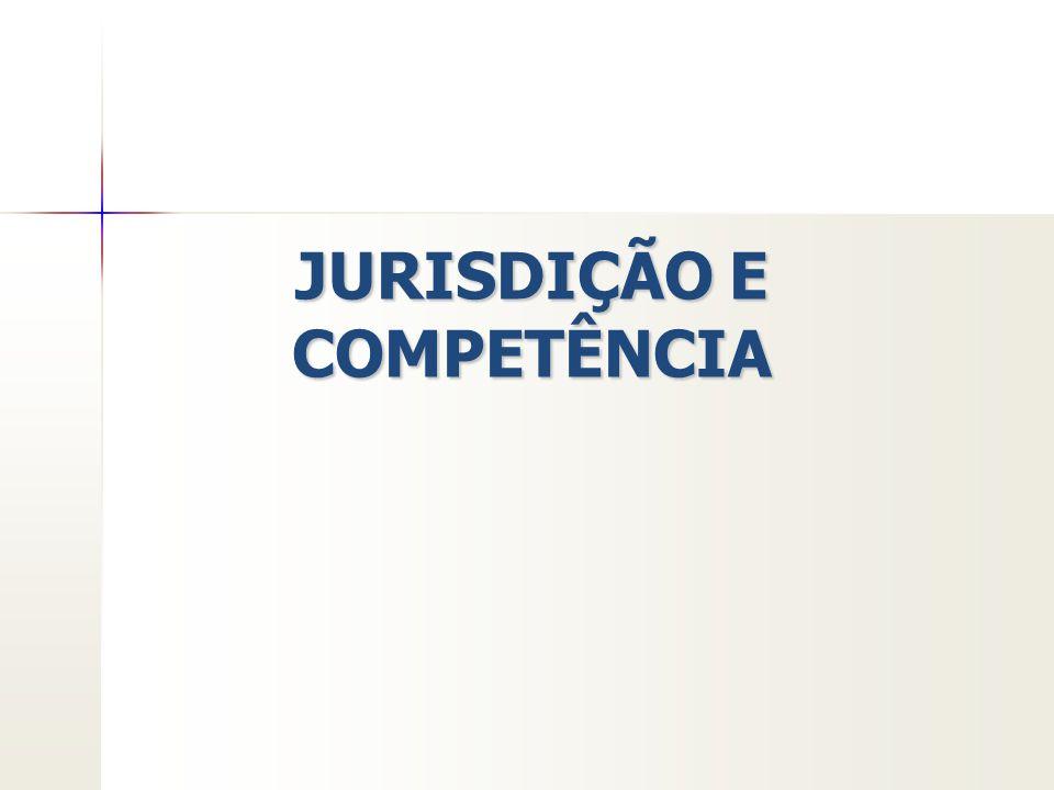 Conceitos JURISDIÇÃO: é o poder, função e atividade de aplicar o direito a um fato concreto, pelos órgãos públicos destinados a tal, obtendo- se o direito a justa composição da lide.