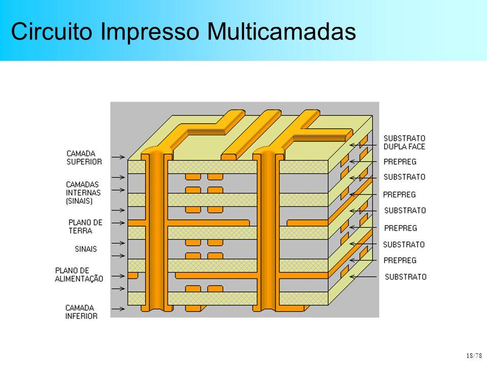 18/78 Circuito Impresso Multicamadas