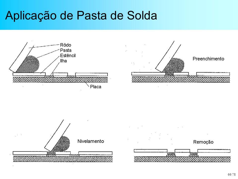 66/78 Aplicação de Pasta de Solda