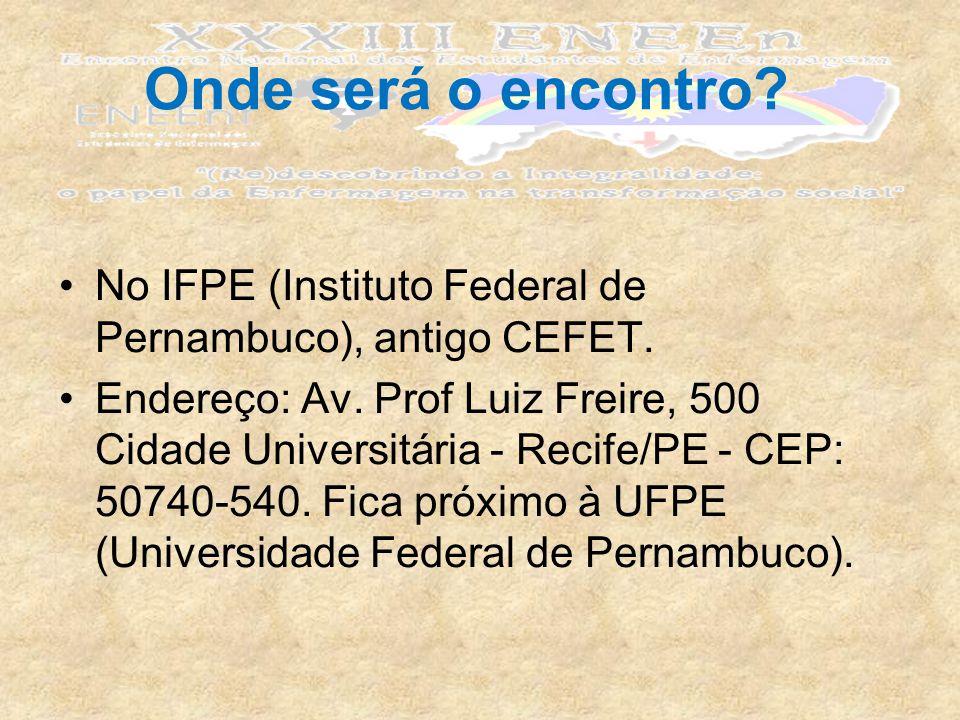 No IFPE (Instituto Federal de Pernambuco), antigo CEFET.