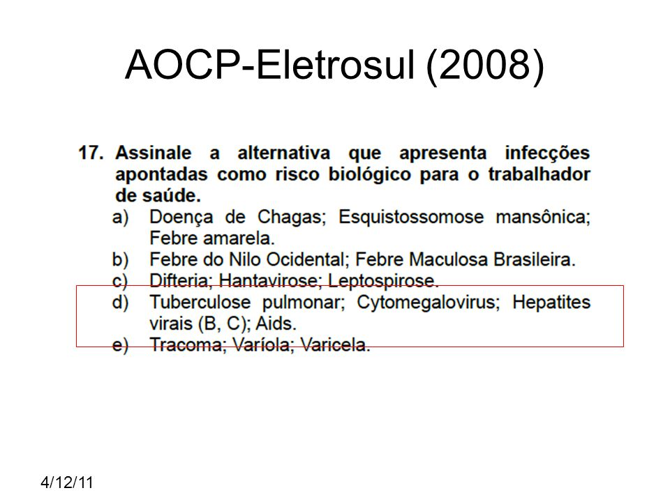 4/12/11 AOCP-Eletrosul (2008)