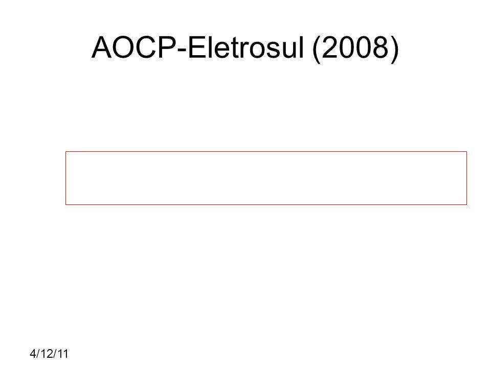 4/12/11 CESPE – TST (2008) E C C