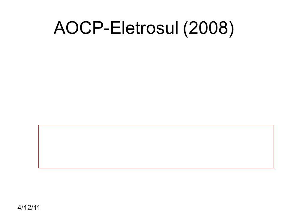 4/12/11 CESPE – TST (2008) E C