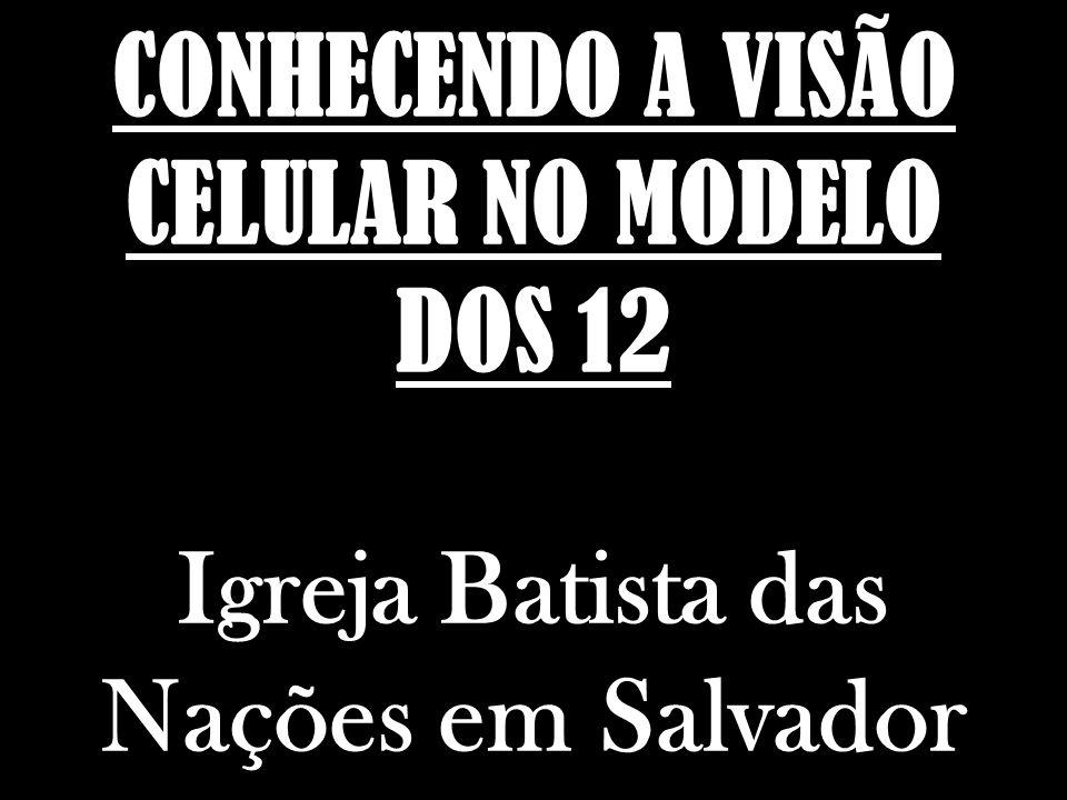 CONHECENDO A VISÃO CELULAR NO MODELO DOS 12 Igreja Batista das Nações em Salvador