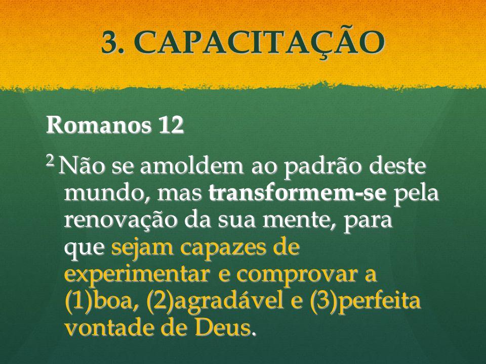 Romanos 12 2 Não se amoldem ao padrão deste mundo, mas transformem-se pela renovação da sua mente, para que sejam capazes de experimentar e comprovar