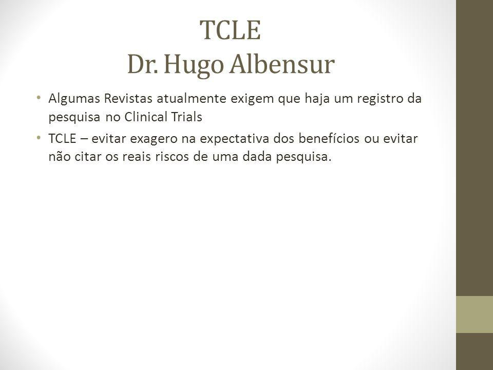 TCLE Dr.