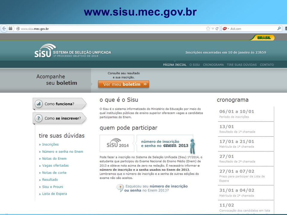 www.sisu.mec.gov.br
