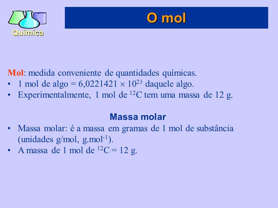 Química Combustão ao ar A combustão é a queima de uma substância em oxigênio do ar: C 3 H 8 (g) + 5O 2 (g)  3CO 2 (g) + 4H 2 O(g) Alguns padrões simples de reatividade química
