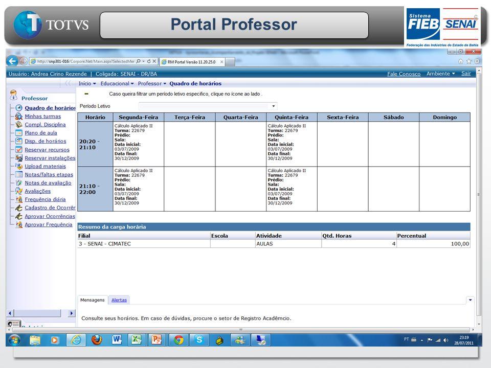 Portal Professor 6