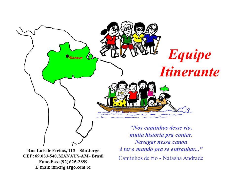 """Manaus """"Nos caminhos desse rio, muita história pra contar. Navegar nessa canoa é ter o mundo pra se entranhar..."""" Caminhos de rio - Natasha Andrade Eq"""