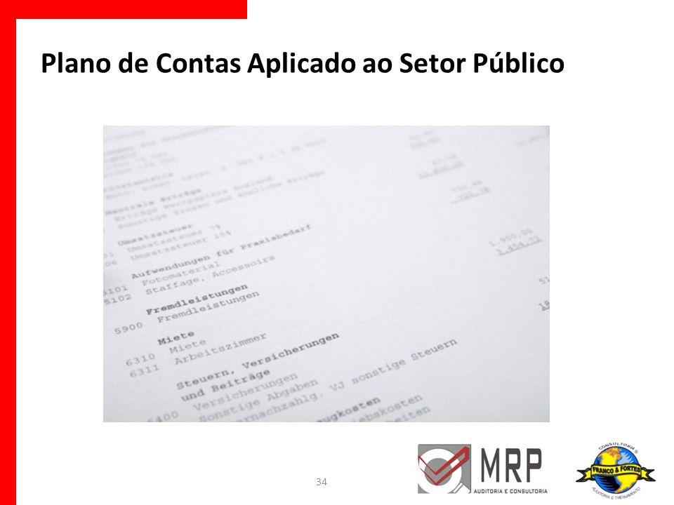 Plano de Contas Aplicado ao Setor Público 34