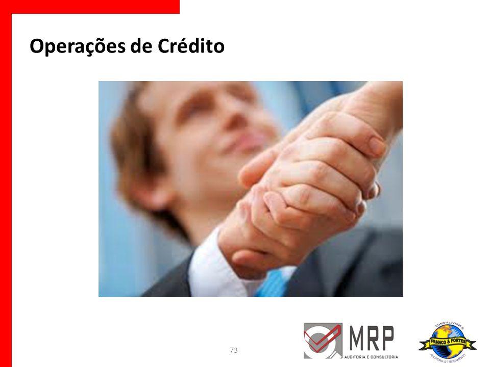 Operações de Crédito 73