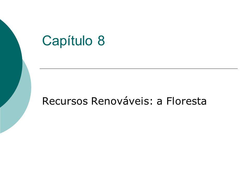 Capítulo 8 Recursos Renováveis: a Floresta