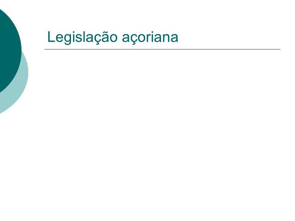 Legislação açoriana