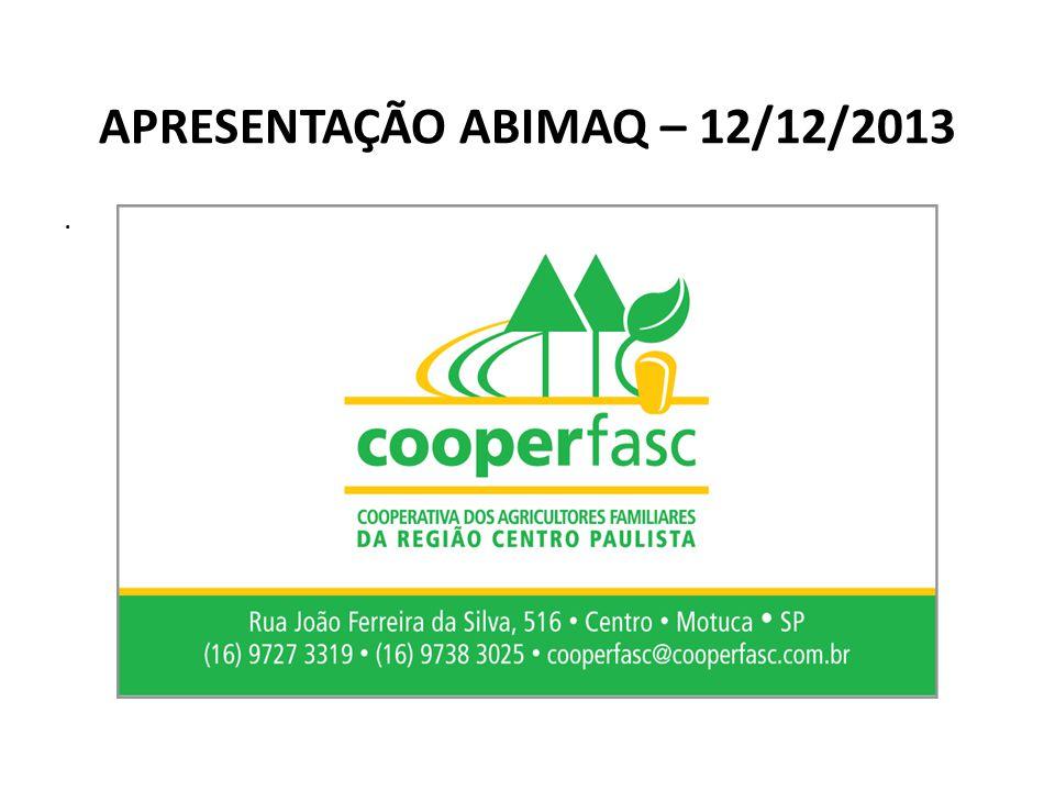 APRESENTAÇÃO ABIMAQ – 12/12/2013.