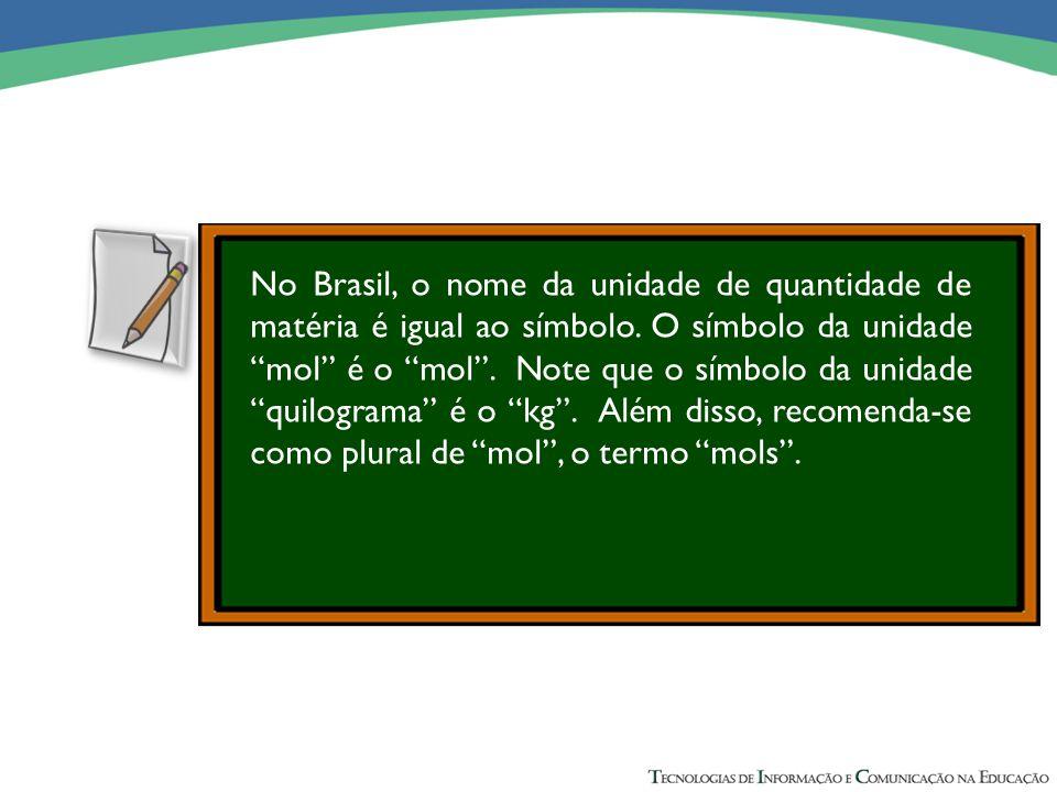 0,96 g de K + ------- 100 mL (concentração) x g de K + ---------- 250 mL (volume total) x = 2,40 g de K + No Brasil, o nome da unidade de quantidade d