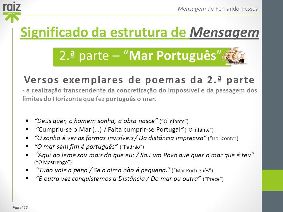 Plural 12 Mensagem de Fernando Pessoa Morte da pátria  Morte das energias de Portugal.