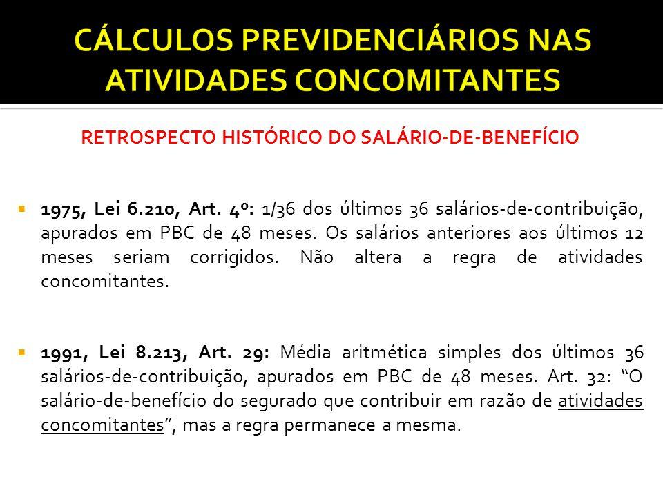 SALÁRIO-DE-BENEFÍCIO ATUAL  1998, Emenda 20: Alterou aposentadoria proporcional, incluindo idade mínima e pedágio.