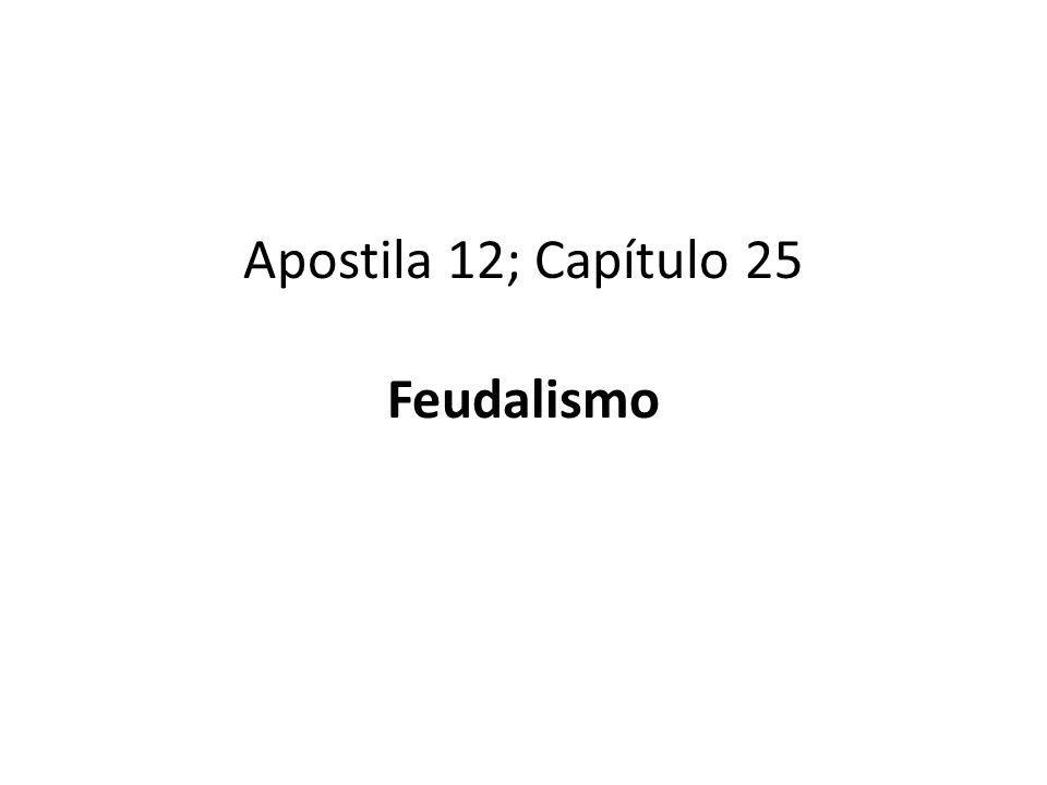 Sistema feudal - Feudo Quando a Roma passou a ser invadida pelos bárbaros, muitas pessoas fugiram para os campos em busca de proteção.