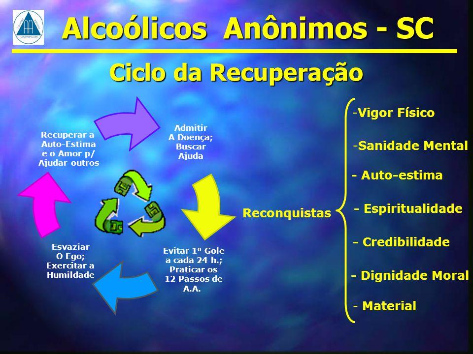 Alcoólicos Anônimos - SC A verdade sobre o Foco da ingestão de bebida alcoólica Os problemas do álcool vão muito além do: SE BEBER NÃO DIRIJA.