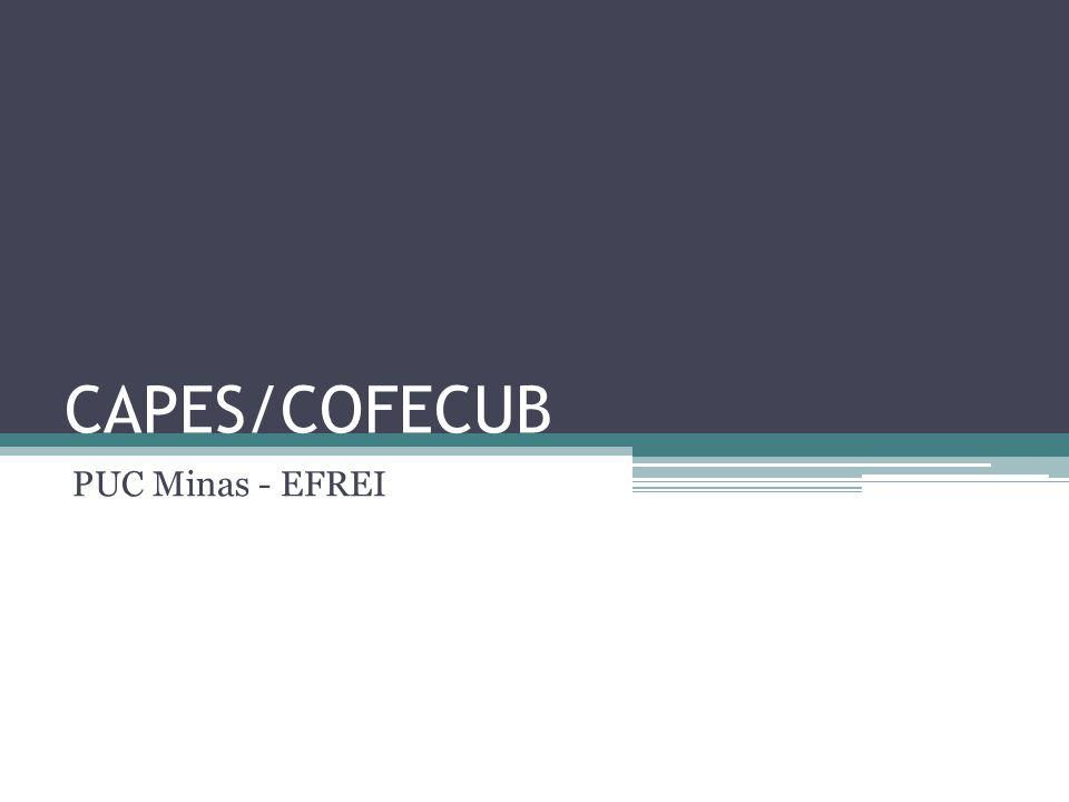 CAPES/COFECUB PUC Minas - EFREI