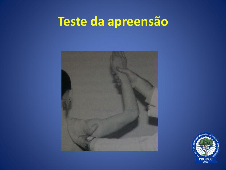 Teste da apreensão