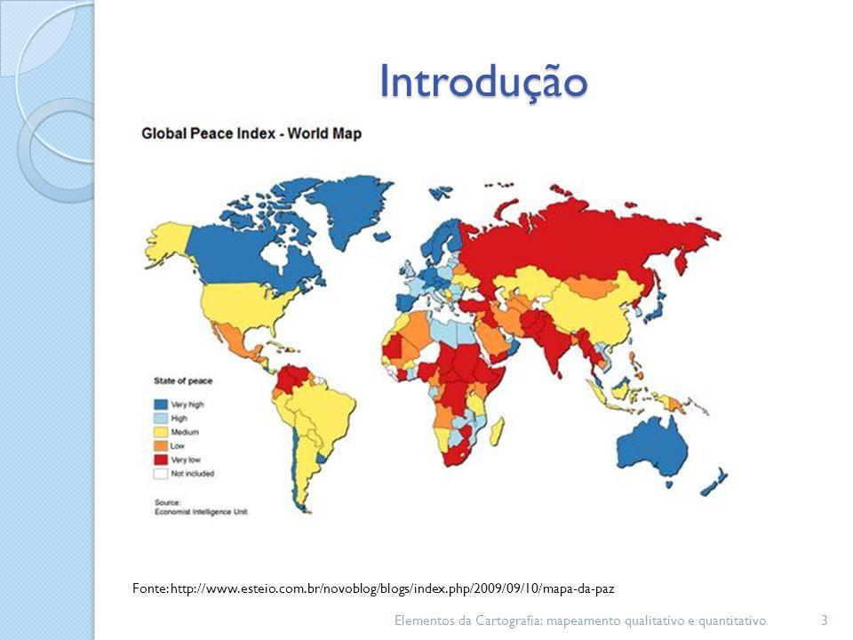 Introdução 3 Fonte: http://www.esteio.com.br/novoblog/blogs/index.php/2009/09/10/mapa-da-paz
