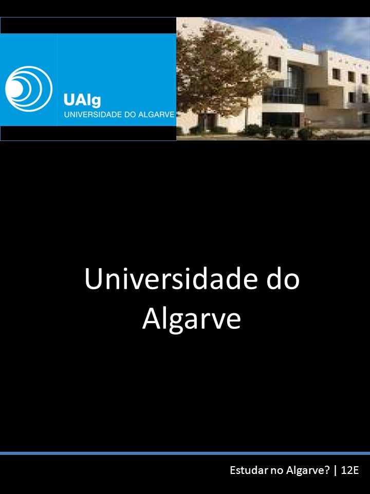 Estudar no Algarve.